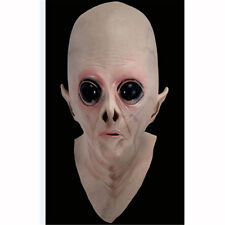 Creepy UFO Latex Alien Big Eyes Mask for Holloween Party