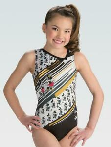 New wTags Hologram Disney © Mickey and Minnie Mouse ™ GK ™ gymnastics leotard AS