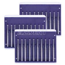 30pcs Dental Tungsten Carbide Burs FG-3 For High Speed Handpiece Drills IT