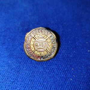 1928 New York Yankees World Series Press Pin
