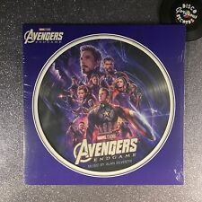 MARVEL: AVENGERS—ENDGAME (Picture Disk Vinyl LP) 00050087415907 (MINT/SEALED)