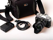 Fujifilm X-T20 Camera with XF18-55mm F2.8-4 OIS zoom lens – plus accessories