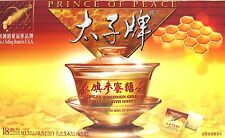 PRINCE OF PEACE AMERICAN GINSENG ROOT TEA WITH HONEY 18 TEA BAGS(5.8OZ/153g)
