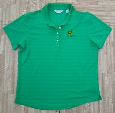 John Deere Classic Callaway Golf Polo Shirt ~ Women's Large L ~ Pga Tour Run