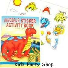 Dinosaur Prehistoric Party - 6 Sticker Activity Books - Free Post in UK