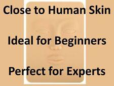 3D Silicone Permanent Makeup Tattoo Training Practice Fake False Skin Face
