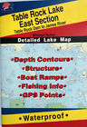 Table Rock Lake East Section Detailed Fishing Map, GPS Points, Waterproof #L155
