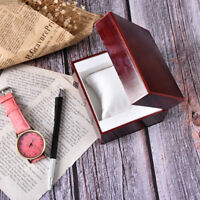watch box luxury wood box with pillow package case Jewelry storage gift box KC