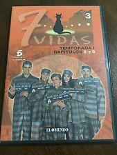 7 VIDAS TEMPORADA 1 DVD 3 -CAPS 5&6 -SLIMCASE - 70MIN - EL MUNDO - DESCATALOGADO