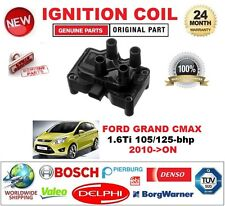 FOR FORD GRAND CMAX 1.6Ti 105/125-bhp 2010-ON IGNITION COIL 3-PIN PLUG TYPE M4