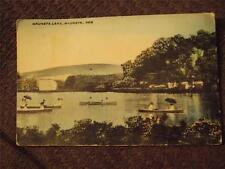 "Wauneta, NE, 1913 Postcard, ""Wauneta Lake"""
