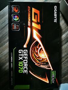 GIGABYTE NVIDIA GeForce GTX 1070 G1 8GB GDDR5 Graphics Card (GV-N1070G1)