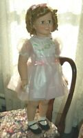 "Shirley Temple 35"" By Danbury Mint all Original in Beautiful Condition"