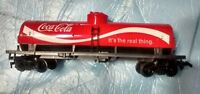Tyco HO Scale Coca Cola Tanker Train Car in Original Box