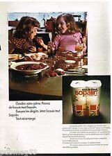 Publicité Advertising 1972 Essuie Tout Sopalin