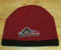 Lake Erie Monsters Embroidered Logo Men's Reversible Promo Beanie Hat HOCKEY