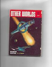 Other Worlds May 1953 Meteor Cover!