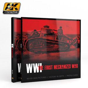AK273 - WWI THE FIRST MECHANIZED WAR - AK INTERACTIVE - SENT 1ST CLASS