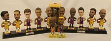 2004 CARL'S JR LAKERS BOBBLEHEAD DOLLS COLLECTOR'S SERIES LOT OF 13