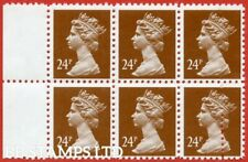1993 ( SG. X969 ). 24p chestnut FORGERY. A superb UNMOUNTED MINT left hand B8904