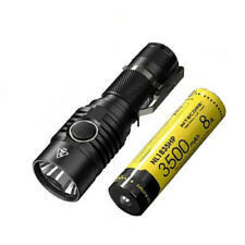 Combo: NITECORE MH23 Rechargeable Flashlight w/NL1835HP Battery