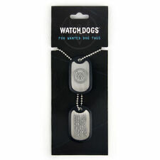 Pendentif officiel dog tag Watch Dogs dog tag Watch dogs Fox wanted dog tags