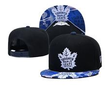 New Era Snapback Cap NHL Toronto Maple Leafs Black Blue Unisex Adults
