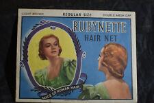 *VINTAGE* Rubynette Hair Net...Made of Human Hair 'Light Brown'