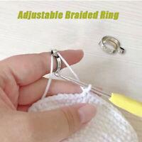 Adjustable Knitting Loop Crochet Loop Knitting Accessories Knitting Ring Adjust