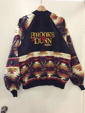90s VTG Country Music BROOKS & DUNN Rodeo Concert Tour Jacket Cherokee Apparel