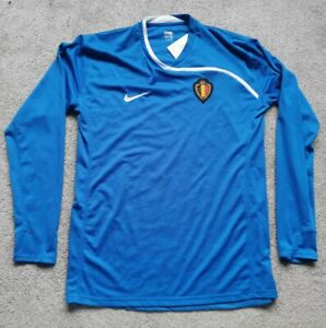 BNWT Belgium Football Shirt 2008 Player Issue Goalkeeper Nike Size XXL