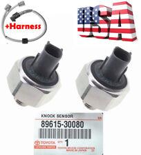 OEM Knock Sensor 89615-30080 & Harness for LEXUS GS430 LS430 SC430 RAV4 SOLARA