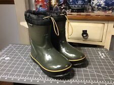 Bogs Mckinley Snow Boot Green Big Kid Sz 3
