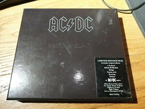 AC/DC - Back in Black (CD Box Set 2009) Limited Edition, HEAVY METAL, HARD ROCK