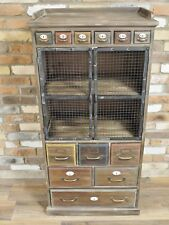 TALL INDUSTRIAL STYLE CABINET