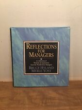 Reflections for Managers: A Collection of Wisdom & Inspiration...HCDJ, 1994