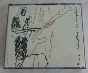 BOX 2 CD ALBUM 24 NIGHTS ERIC CLAPTON 15 TITRES 1991 MADE IN GERMANY
