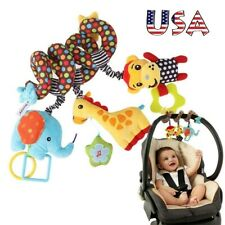 Pushchair Pram Stroller New Car Seat Cot Bed Baby Activity Spiral Hanging Toy US