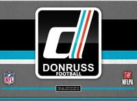 2019 Donruss (Panini) NFL Football Trading Cards Pick From List 1-200
