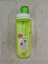 Drinking Bottle Green Clear