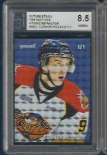 CONNOR MCDAVID FUTURE STOCK THE NEXT ONE ATOMIC REFRACTOR 1/1 NNO ACA 8.5  33340