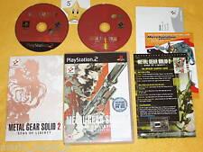 METAL GEAR SOLID 2 + DVD BONUS  Playstation 2  vers. UK