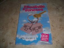 2011-2012 PLAYBILL  - THE REALISTIC JONESES - JOHANNA DAY FITZGERALD LETTS POSEY