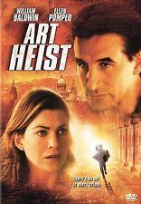 Art Heist (DVD, 2005) William Baldwin, Ellen Pompeo