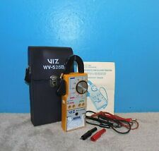 Viz Wv 526b Super Gold Line Clamp Tester Multimeter With Leads Amp Case Free Ship