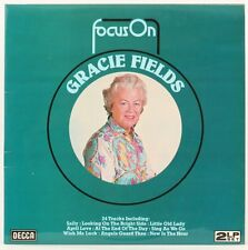 Focus On Gracie Fields  Gracie Fields Vinyl Record