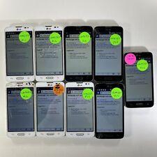 Lot of 9 Cracked Glass LG Optimus L70 LG-MS323 Metro PCS *Check IMEI*