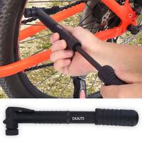 Bicycle Bike Cycling Tyre Tire Air Pump Portable Nylon Mini 120 PSI Inflator ZH