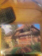Vintage 2500pc. Milton Bradley Grand Puzzle Berner Mittelland. Switzerland NEW