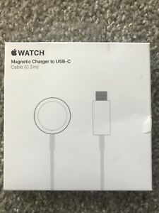 Genuine Apple Watch 5 4 3 2 Magnetic Charger to USB-C Cable 0.3m for macbook pro